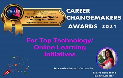 School bagged Career Changemakers Award 2021 for top learning/online initiatives